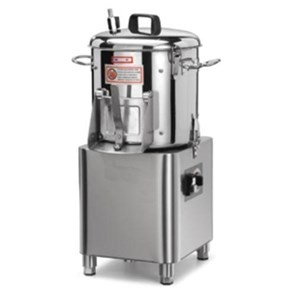 MUSCHELREINIGER Mod. LCN5 (Tischgerät) - Fassungsvermögen 5 kg - Stundenleistung 60 g/h - (mit Bürstenteller) - ANSCHLUSSWERTE EINPHASIG oder DREIPHASIG - Leistung 0,5 hp / 370 W - CE-Kennzeichnung