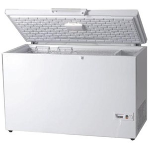 Tiefkühltruhe - GERINGER ENERGIEVERBRAUCH - KLASSE A+ - Mod. AK/CF - STATISCHES KÜHLSYSTEM - manuelle Abtauung - digitales Thermometer - TEMPERATUR -18ºC o +8/-18 °C (je nach Modell)