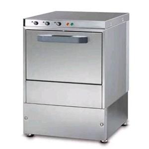 "Gläserspülmaschine - Edelstahl AISI 304 18/10 - Mod. J A35 - max. Einschubhöhe: 25 cm - Korbmaße (B x T): 35 x 35 cm - Spüldauer: 120"" - Produktmaße in cm (B x T x H): 42,5 x 45,5 x 66,6"