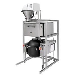 REIS-WASCHEN-MASCHINE OFEN UND MISCHER - Mod. TAIKI - Reiswaschmaschine wäscht den Reis in 5 Minuten - der OFEN kocht und ist ideal für die Sushi-Zubereitung - MISCHER:  ideales Gerät um den Reis zu mischen und den Reis nach dem Garen auf der richtigen Temperatur zu halten -Abmessungen in cm (BxTxH): 90 x 111,5 x 214 - CE-Norm