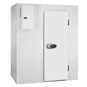 Kühlzelle / Kältemodule - Wandstärke: 7 cm - ohne Boden - H 207 - mit 1 Tür: 80 cm x 185 h - ohne Kühlaggregat