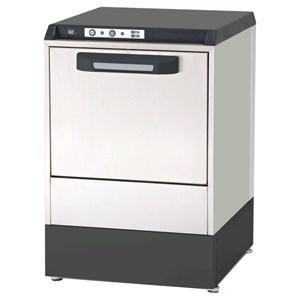 "Gläserspülmaschine - Edelstahl AISI 304 18/10 - Mod. 5822 VZ - max. Einschubhöhe: 25 cm - Korbdurchmesser: 36 cm - Spüldauer: 120"" - Produktmaße in cm (B x T x H): 42,5 x 45,5 x 63,6"