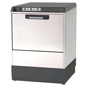 """Geschirrspülmaschine - Edelstahl AISI 304 18/10 - Mod. 7222 VZ - Einphasenanschluss - max. Einschubhöhe: 32 cm - Korbmaße (B x T): 50 x 50 cm - Spüldauer: 120"""" - peristaltischer Dosierer für Klarspülmittel (einstellbar) - Produktmaße in cm (B x T x H): 59 x 60 x 81,7"""