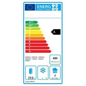 Kühltisch aus Edelstahl - Umluftkühlung - Mod.FQG4533GR - Gastronorm 1/1 (53 x 32,5 cm) - 2 Türen - Nutzvolumen: 280 Liter - Temperaturbereich: 0°/+8°C - Produktmaße in cm (B x T x H): 136 x 70 x 85 - CE-Kennzeichnung