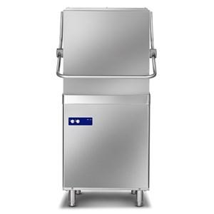 """Geschirrspülmaschine - mechanische Bedienung - Edelstahl AISI Mod. PG 1000 GEM - dreiphasiger Anschluss - max. Einschubhöhe:  cm 43 - viereckiger Korb: 50 x 50 cm - Spülzyklus 120/180"""" - Dosierer für Klarspülmittel - Produktmaße (B x T x H): 65,5 x 78,5 x 148"""
